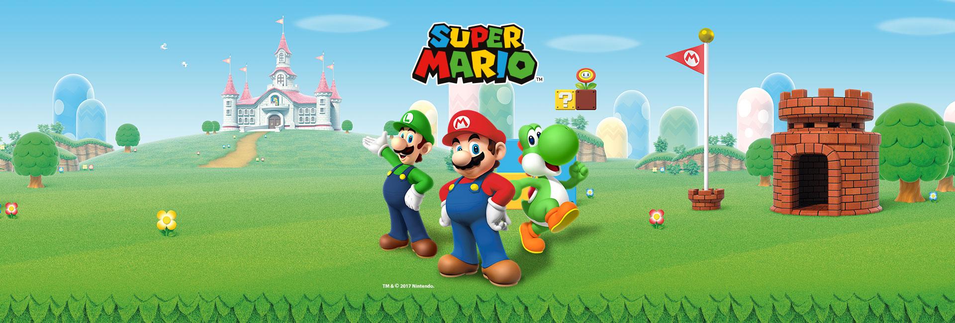 Super Mario | Brinquedos da franquia Mario estarão no McLanche Feliz de outubro