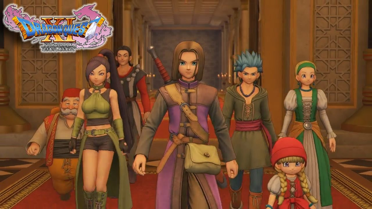 Dragon Quest XI: Echoes of an Elusive Age | Novo trailer apresenta os personagens do game