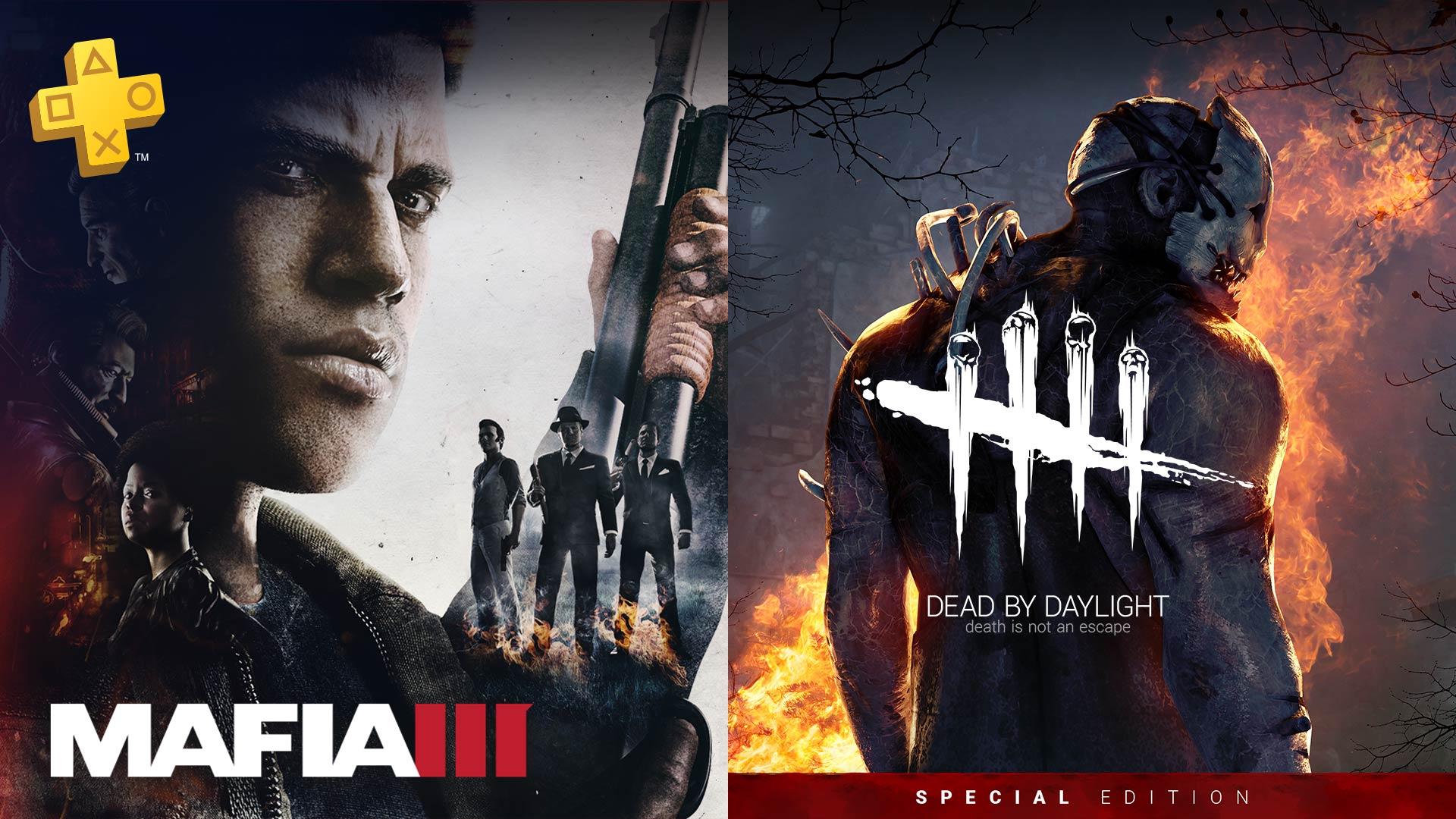 Playstation Plus | Mafia III e Dead by Daylight estão entre as ofertas gratuitas de agosto