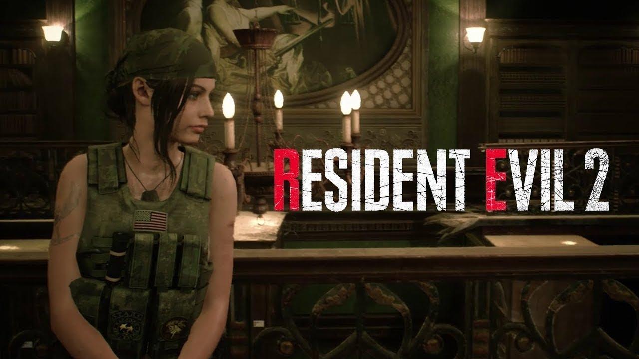 Resident Evil 2 | Novos gameplays revelam trajes alternativos dos protagonistas Claire e Leon