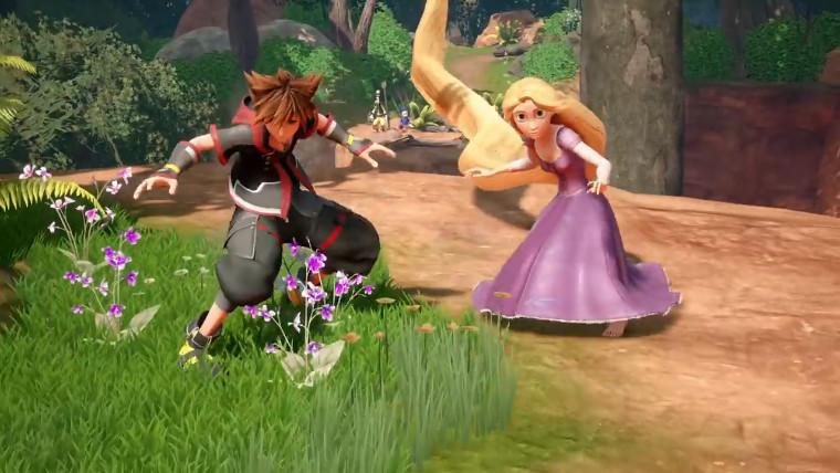 Kingdom Hearts III   Novo trailer apresenta o mundo de Enrolados