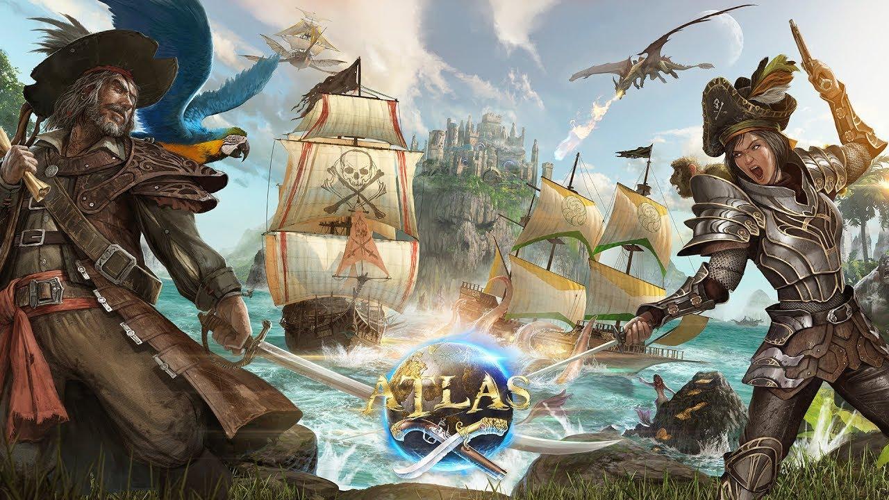 Atlas | Novo MMO do estúdio de Ark: Survival Evolved é anunciado