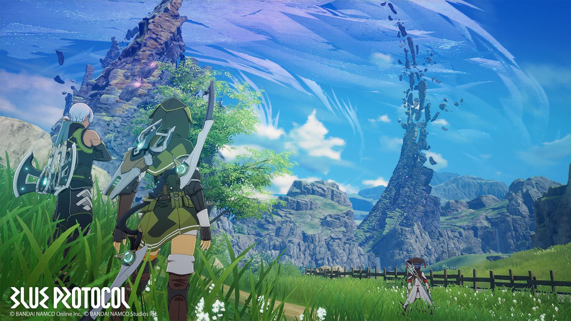 Blue Protocol | Bandai Namco anuncia seu novo RPG