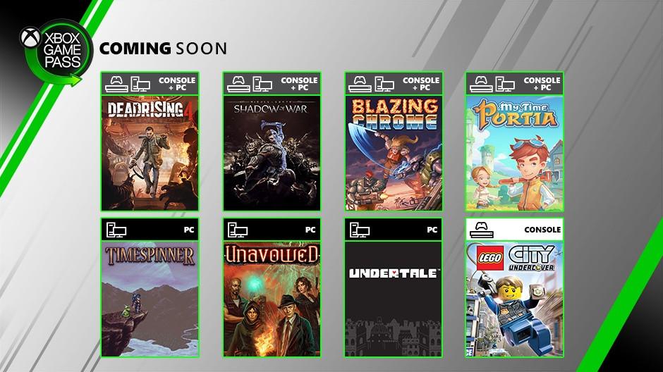Xbox Game Pass | Sombras da Guerra e Dead Rising 4 chegam ao Game Pass em julho