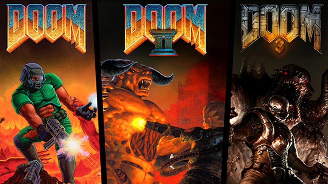 Doom   Primeiros jogos da franquia são relançados para atual geração