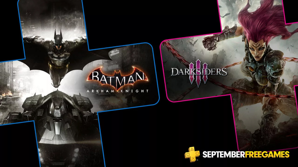 Playstation Plus | Batman: Arkham Knight e Darksiders 3 são os games da PS Plus de setembro