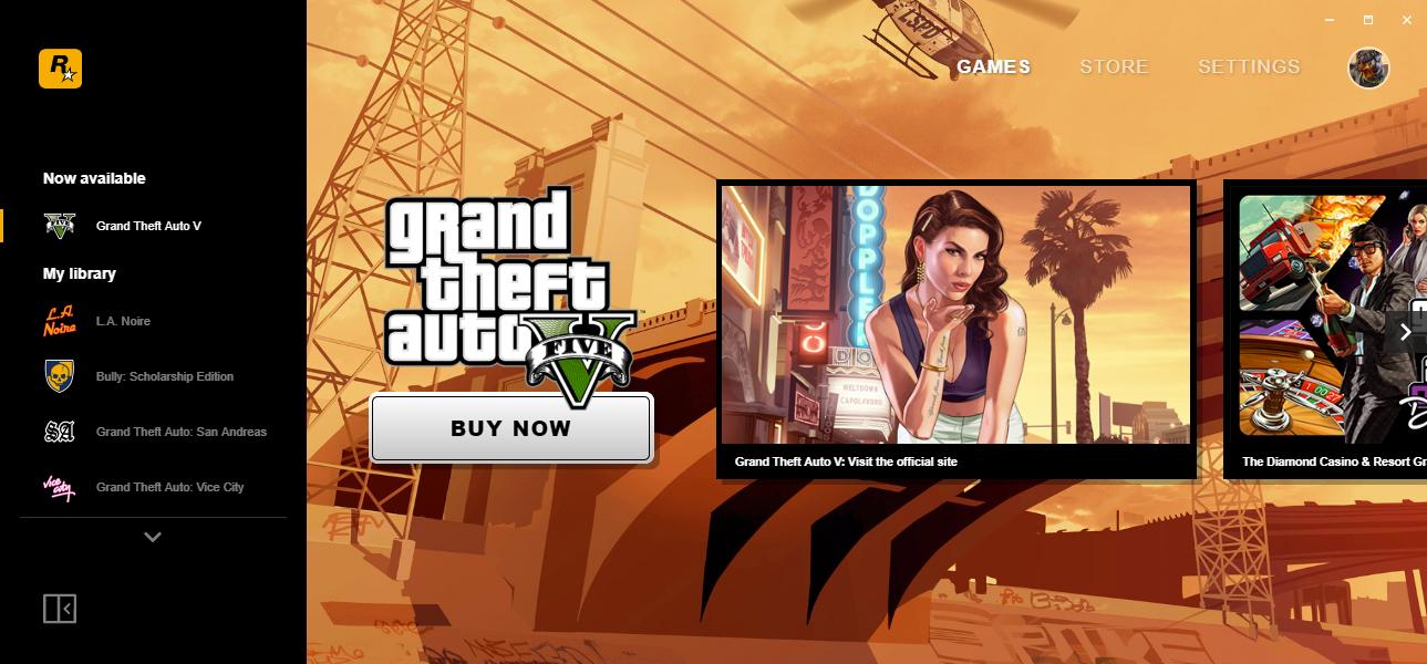 Rockstar Games | Empresa lança sua própria plataforma para games no PC